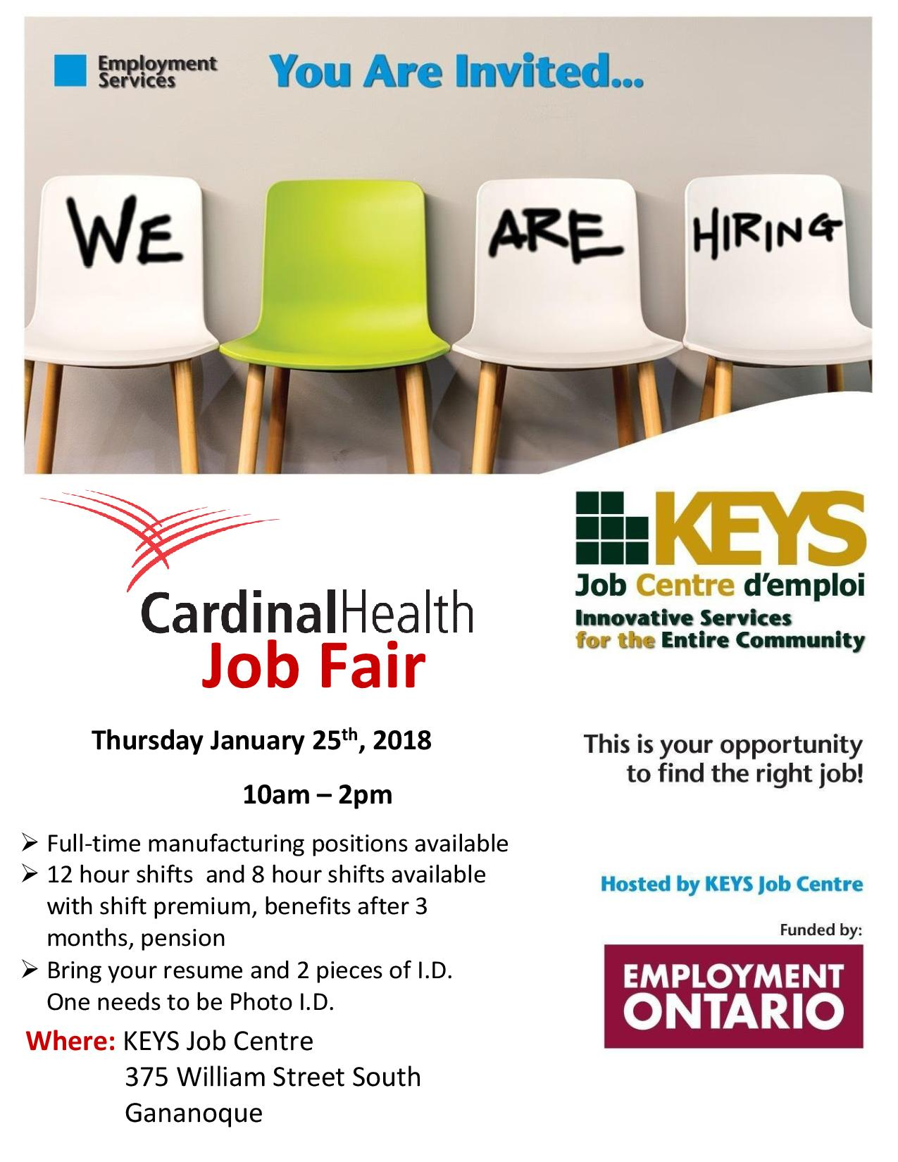 Cardinal Health Job Fair